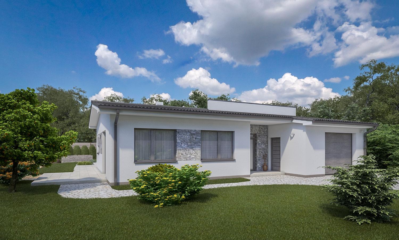 projekt domu BUNGALOW 166