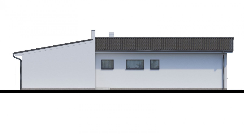 Pohľad 2. - 4-izbový rodinný dom s garážou. Možnosť spraviť z garáže izbu.
