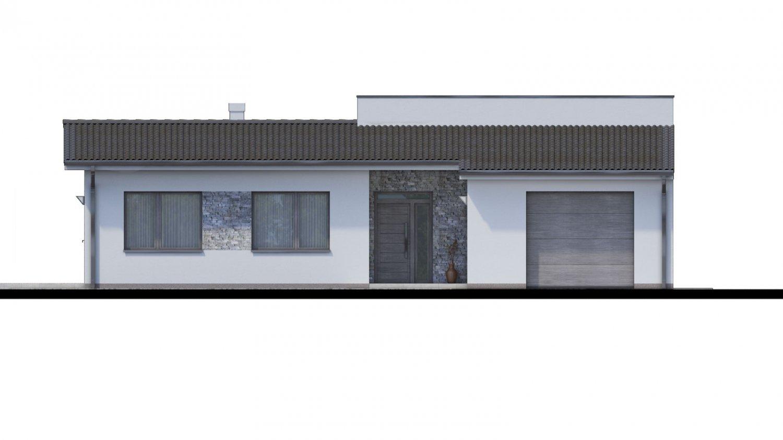 Pohľad 1. - 4-izbový rodinný dom s garážou. Možnosť spraviť z garáže izbu.