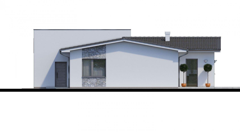 Pohľad 3. - 4-izbový rodinný dom s garážou. Možnosť spraviť z garáže izbu.