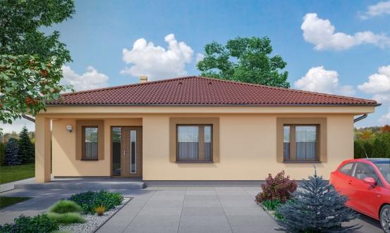 projekt domu BUNGALOW 167