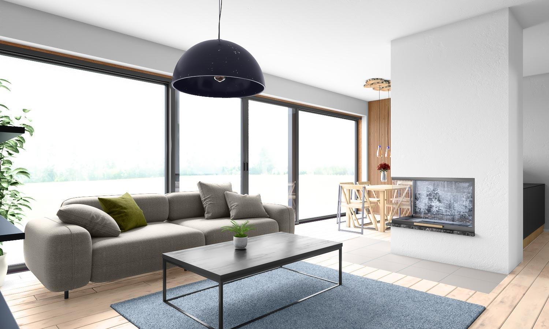 projekt domu BUNGALOW 168