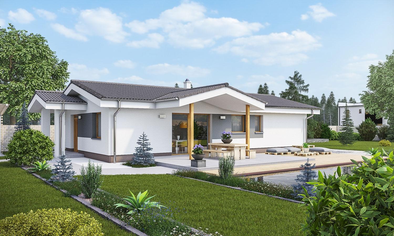 projekt domu BUNGALOW 169