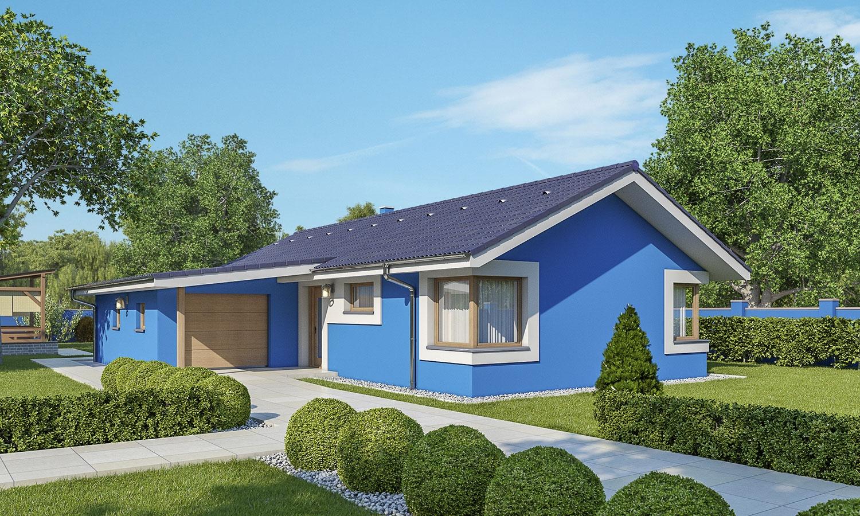 projekt domu BUNGALOW 170