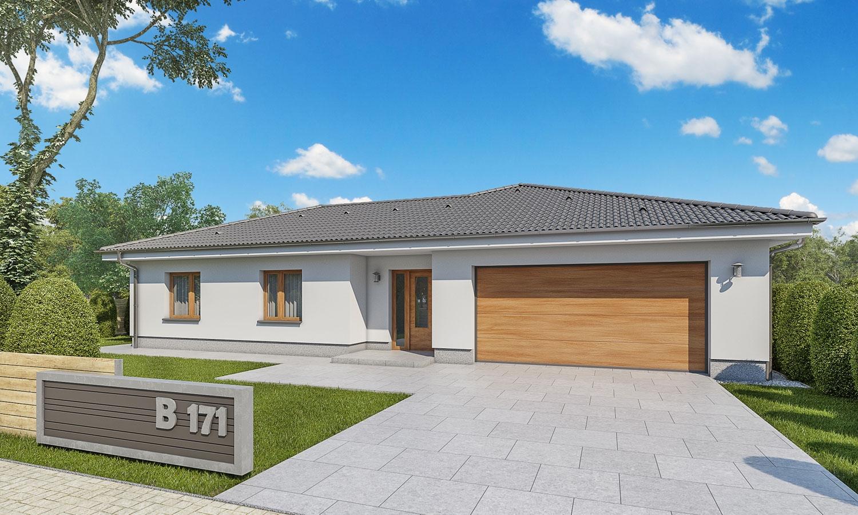 projekt domu BUNGALOW 171