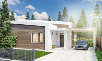 Zaujímavý projekt domu