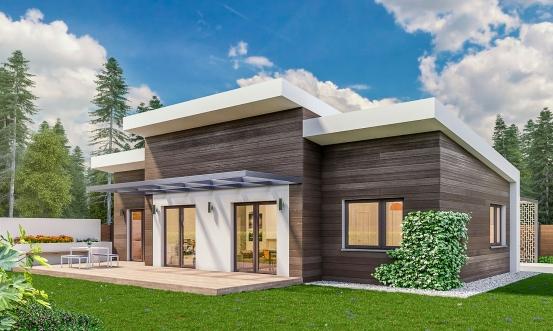 projekt domu BUNGALOW 172