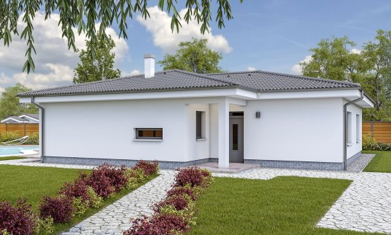 projekt domu BUNGALOW 173