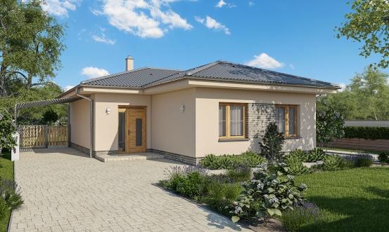 projekt domu BUNGALOW 174