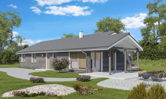 projekt domu BUNGALOW 175