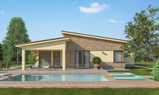 projekt domu BUNGALOW 176