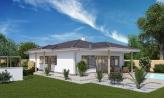 Jednoduchý dom s terasou