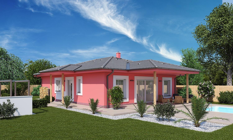 projekt domu BUNGALOW 177