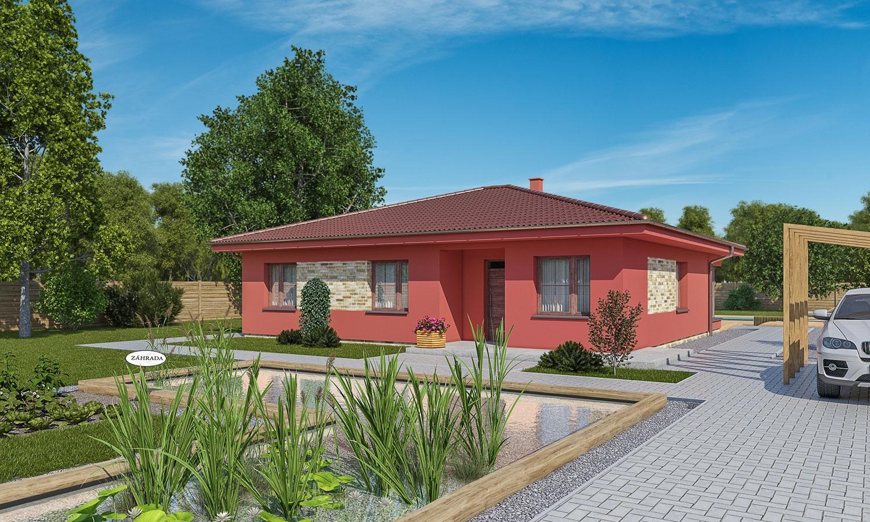 projekt domu BUNGALOW 179