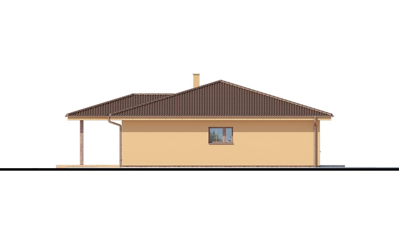 Pohľad 4. - 5-izbový bungalov. Top projekt roku 2019.