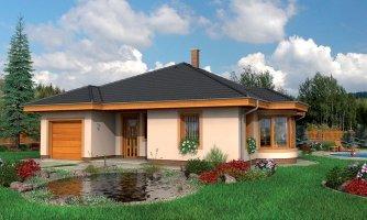 projekt domu BUNGALOW 18
