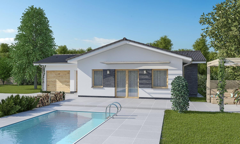 projekt domu BUNGALOW 181