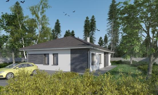 projekt domu BUNGALOW 183