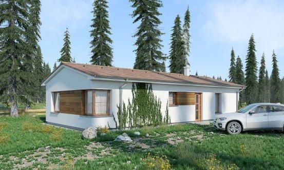 projekt domu BUNGALOW 184