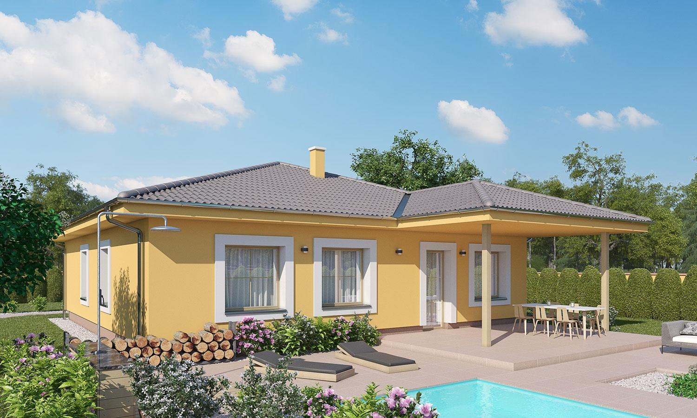 projekt domu BUNGALOW 185