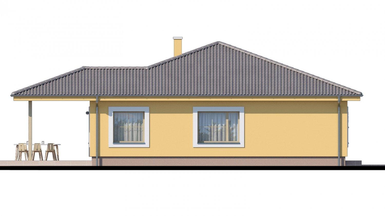 Pohľad 4. - Krásny bungalov s prekrytou terasou