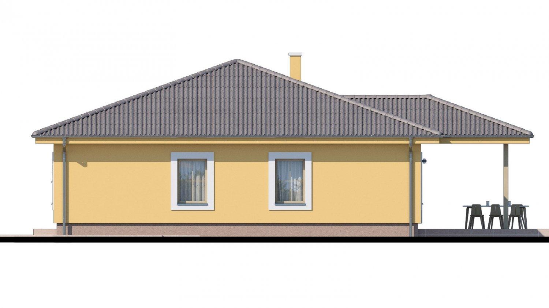 Pohľad 2. - Krásny bungalov s prekrytou terasou
