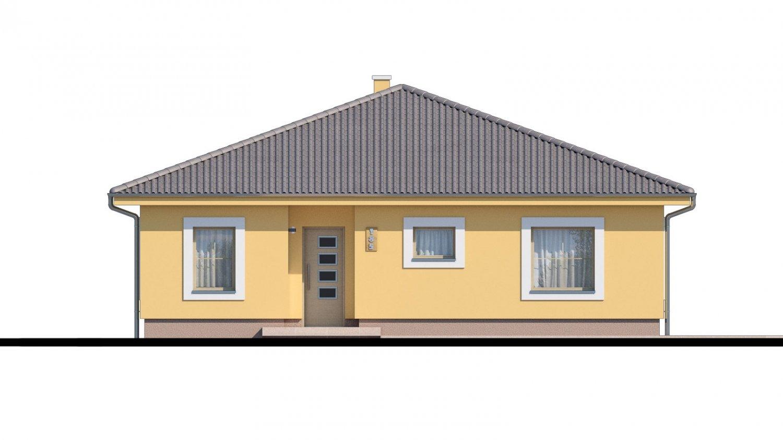 Pohľad 1. - Krásny bungalov s prekrytou terasou