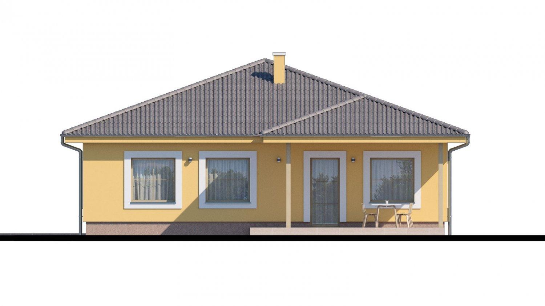 Pohľad 3. - Krásny bungalov s prekrytou terasou
