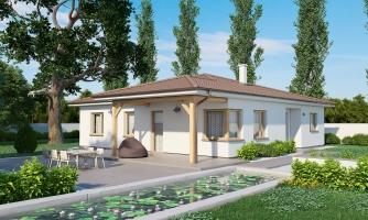 Pekný rodinný dom s terasou