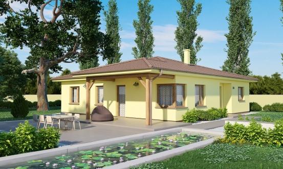projekt domu BUNGALOW 186