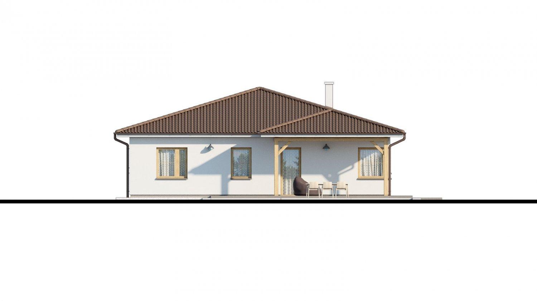 Pohľad 4. - Pekný 5-izbový rodinný dom s terasou.