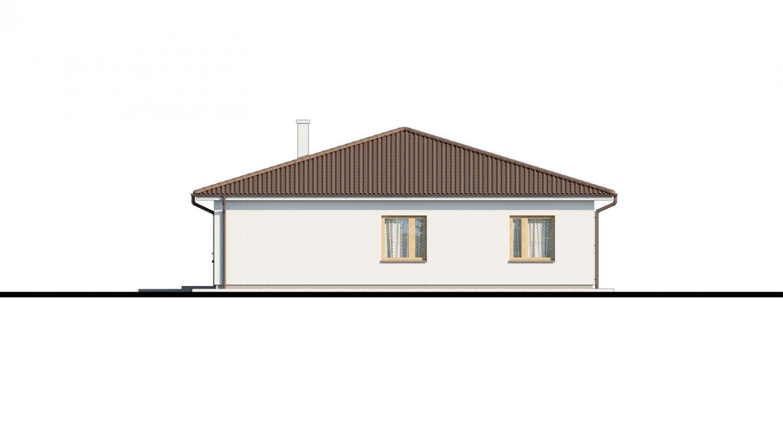 Pohľad 2. - Pekný 5-izbový rodinný dom s terasou.