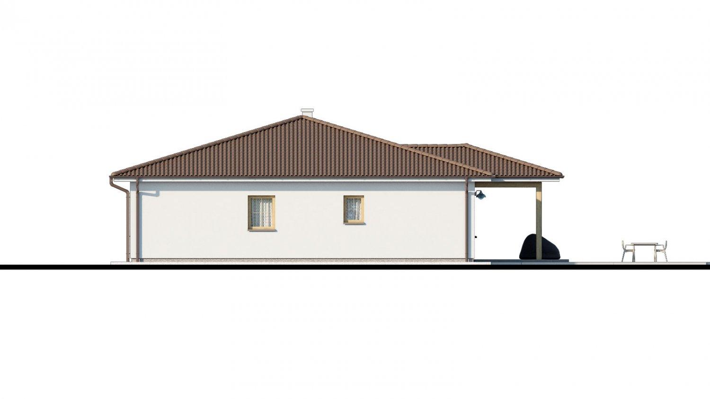 Pohľad 3. - Pekný 5-izbový rodinný dom s terasou.