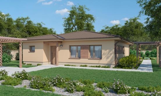 projekt domu BUNGALOW 187