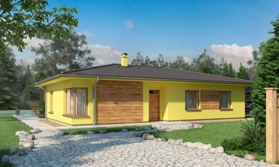 projekt domu BUNGALOW 188