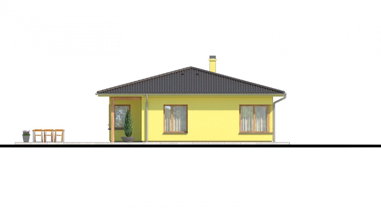 Pohľad 4. - Zaujímavý projekt domu.