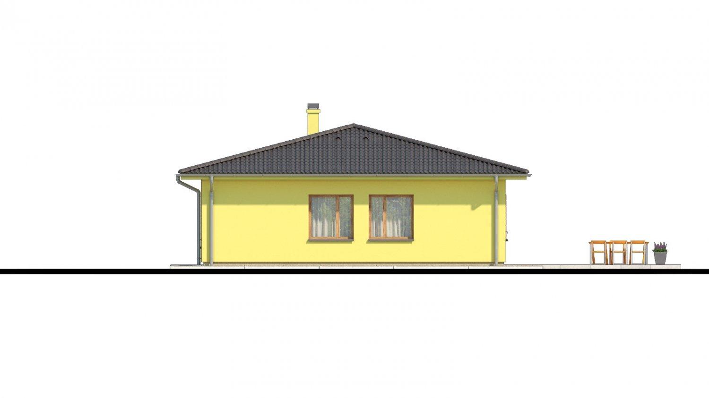 Pohľad 2. - Zaujímavý projekt domu.