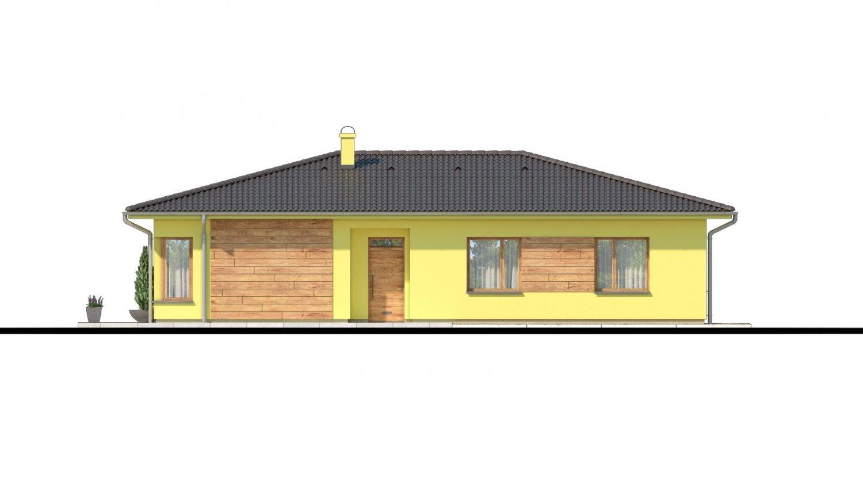 Pohľad 1. - Zaujímavý projekt domu.