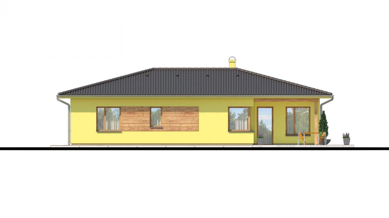 Pohľad 3. - Zaujímavý projekt domu.