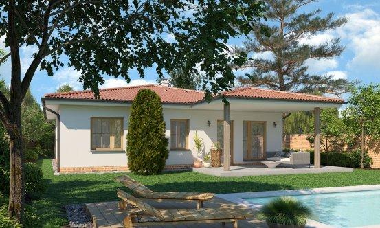 projekt domu BUNGALOW 189