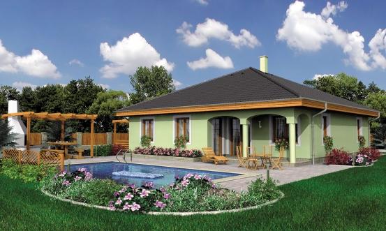 projekt domu BUNGALOW 19