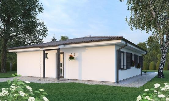 projekt domu BUNGALOW 190