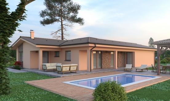 projekt domu BUNGALOW 192