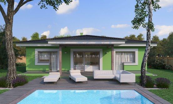 projekt domu BUNGALOW 193