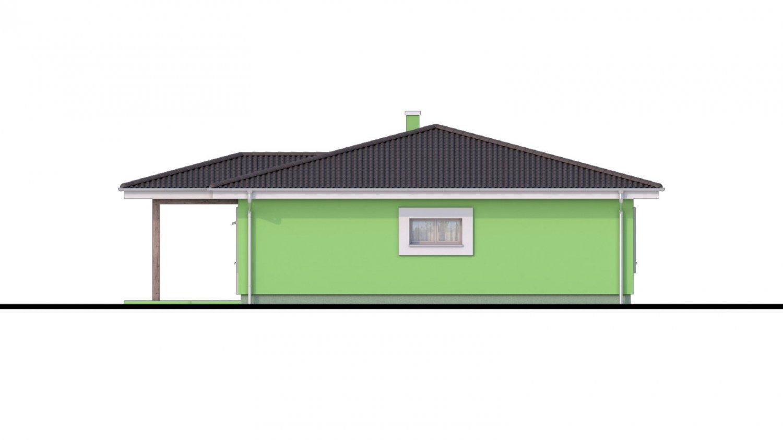 Pohľad 4. - Zaujímavý projekt domu