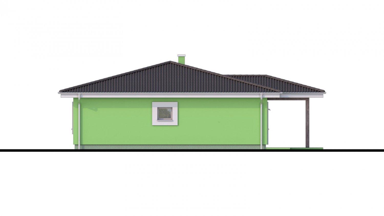 Pohľad 2. - Zaujímavý projekt domu