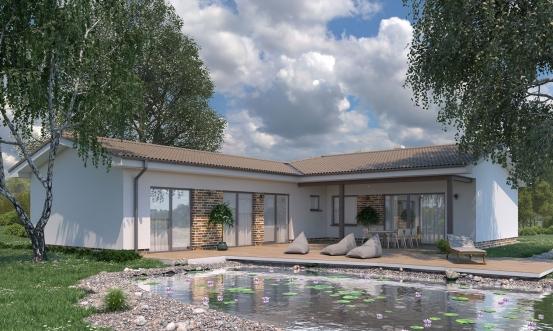 projekt domu BUNGALOW 194