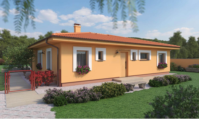 projekt domu BUNGALOW 195