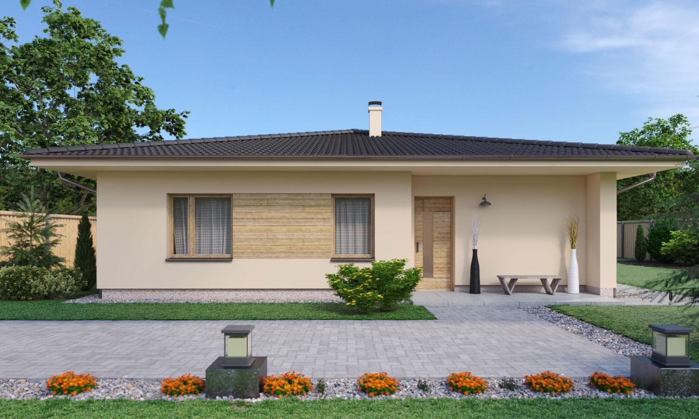 projekt domu BUNGALOW 196