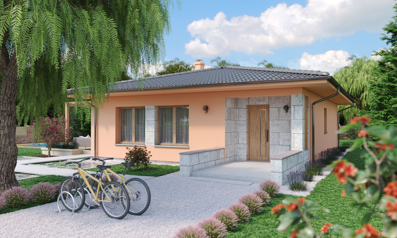 projekt domu BUNGALOW 197